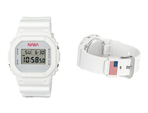 Casio lanza un Nuevo G-Shock de Edición Limitada en homenaje a la NASA