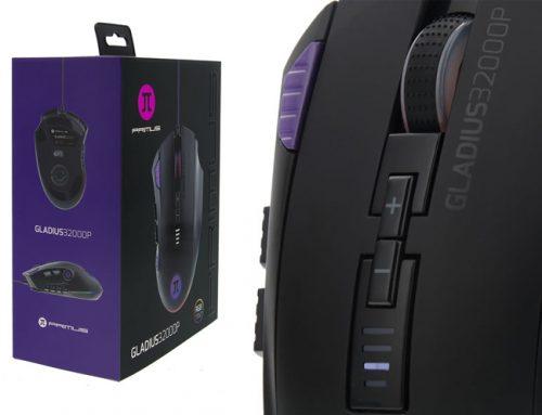 PRIMUS lanza su nuevo mouse Gladius32000P