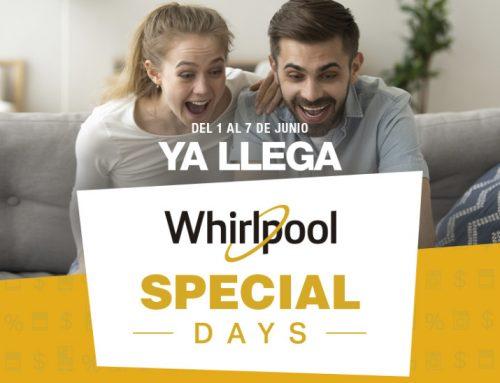 """Whirlpool anuncia la primera edición de """"Whirlpool Special Days"""""""
