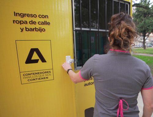 ATMA equipa contenedores de descanso para el personal de salud