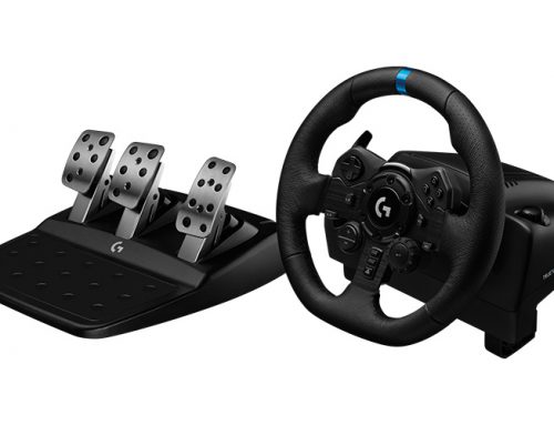 Logitech G lanza el nuevo volante G923 TRUEFORCE