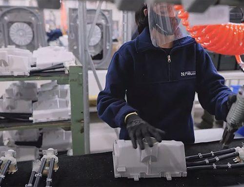 Newsan inaugura su línea de fabricación de lavarropas LG