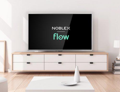 Noblex y Flow se unen para acercar una nueva propuesta para disfrutar en el hogar