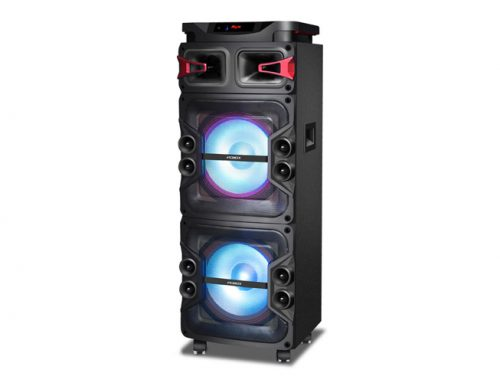 Llegó Night, la torre de sonido de PCBOX