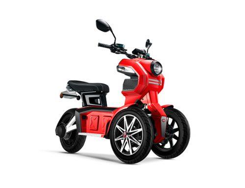 Con 4 modelos de motos eléctricas Doohan Technology desembarca en Argentina