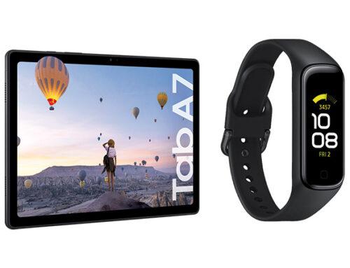 Samsung presentó la Tab A7 y el Galaxy Fit2