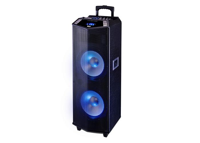 RCA presenta su nuevo parlante portátil bluetooth