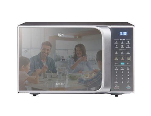 BGH presenta su nuevo Microondas Quick Chef Digital ECO