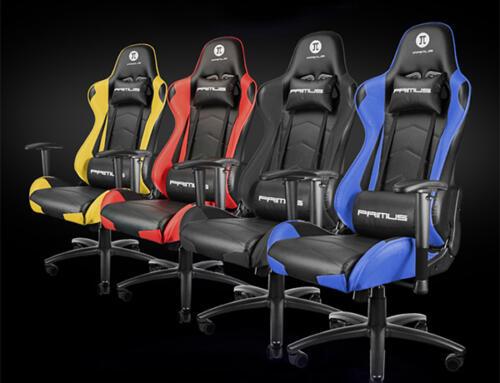 PRIMUS lanza THRÓNOS100T su nueva silla para gamers