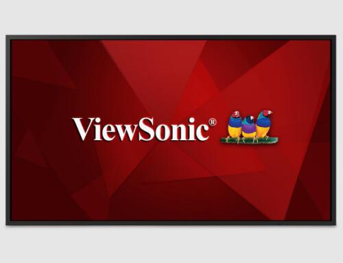 ViewSonic sus nuevos displays de la serie CDE20