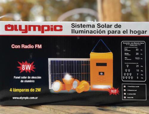 Olympic ofrece soluciones rápidas usando energía renovable
