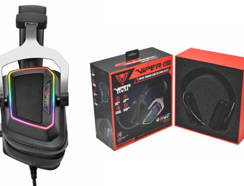 Patriot presenta su Headset Viper V380 Virtual 7.1