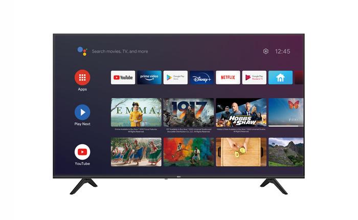 BGH presentó su nuevo Android TV