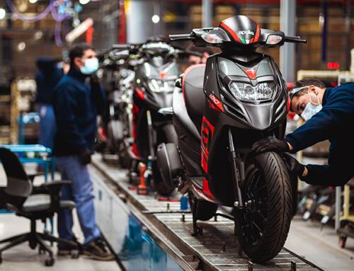 Grupo Simpa comenzará a producir en Argentina el scooter Aprilia SR 160