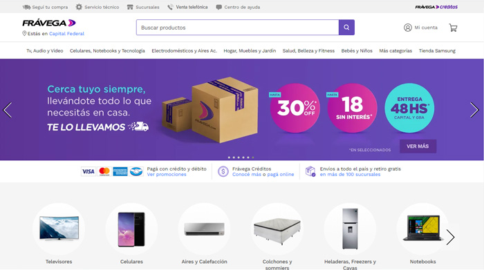 Frávega recibió el premio eCommerce Award Argentina 2021