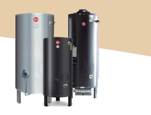 Rheem presenta una línea de termotanques comerciales para grandes consumos