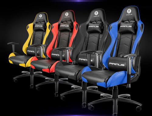 Llegó THRÓNOS100T, la silla para gamers de Primus